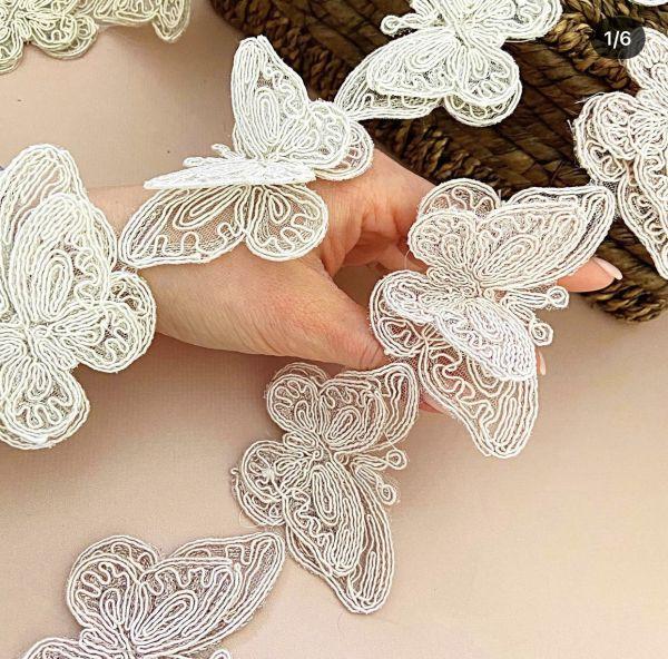 Кордовые Бабочки 5х9,5см (кр0360) мол