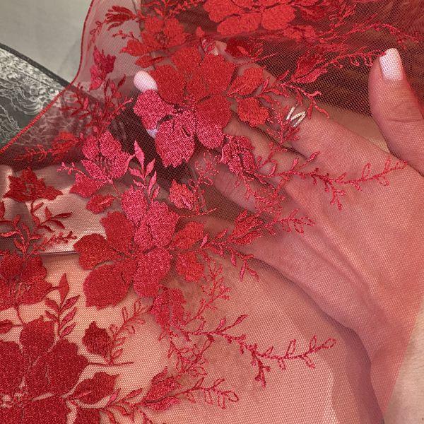 Кружево «Красная лоза» 22,5см (кр0471)